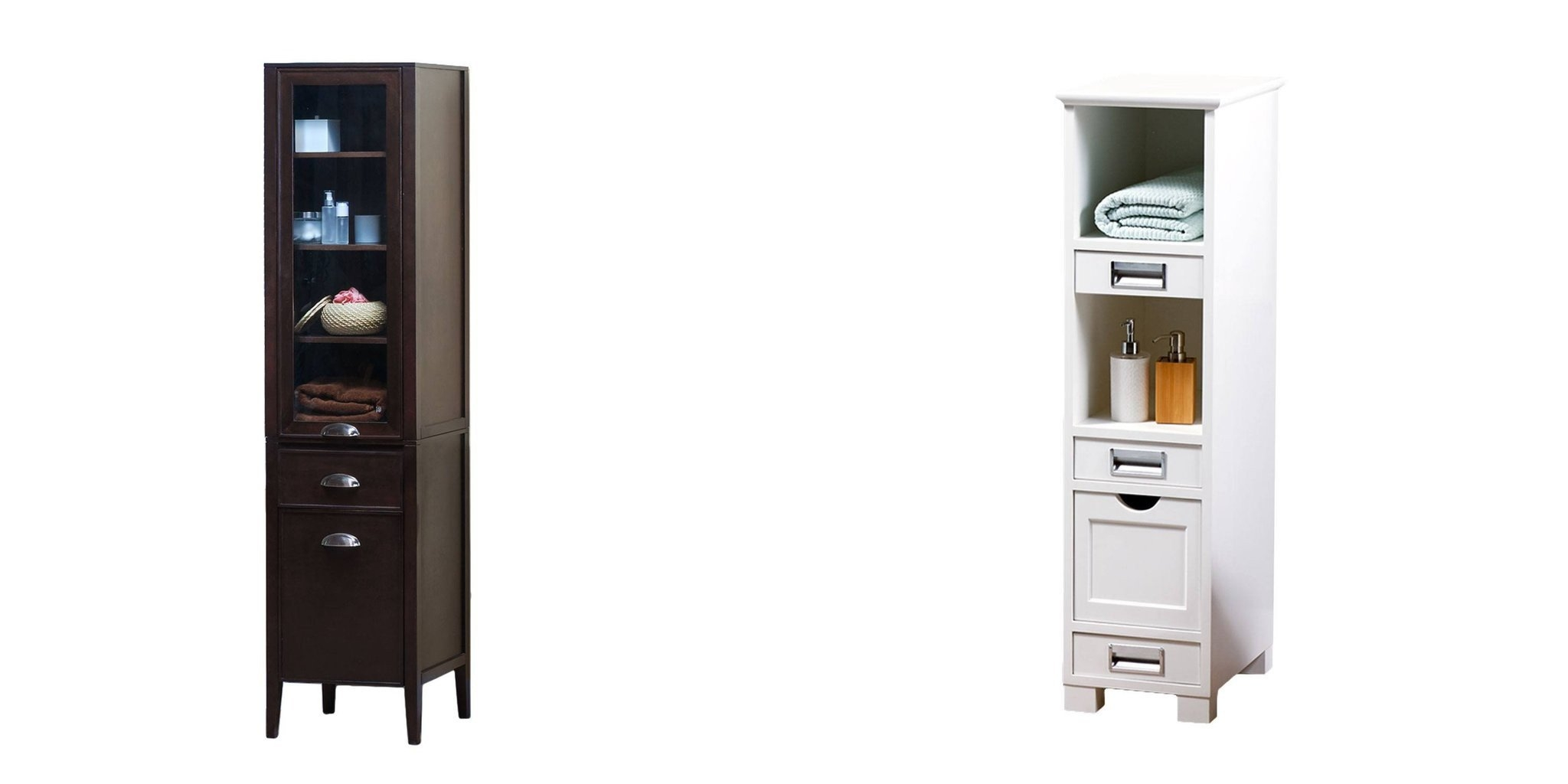 Maykke Tall Bathroom Furniture